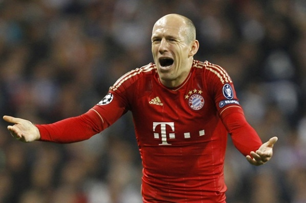 Robben refused to participate in the drama with the penalties against Real