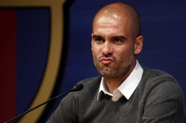 Official: Pep Guardiola left Barcelona!
