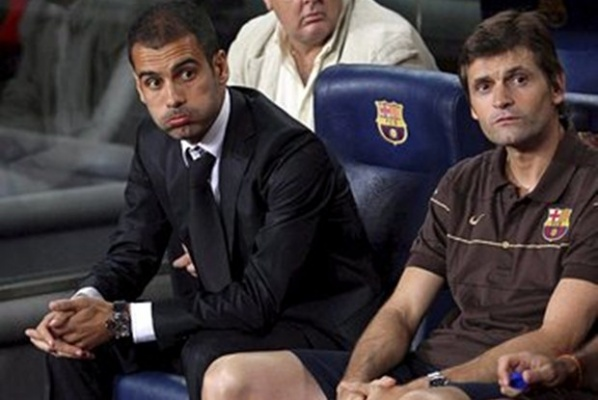 Tito Villanova is the new coach of Barcelona
