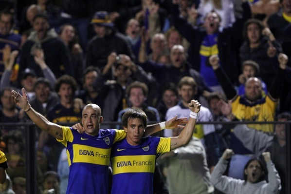 Riquelme led Boca to the 1/4-final in Copa Libertadores