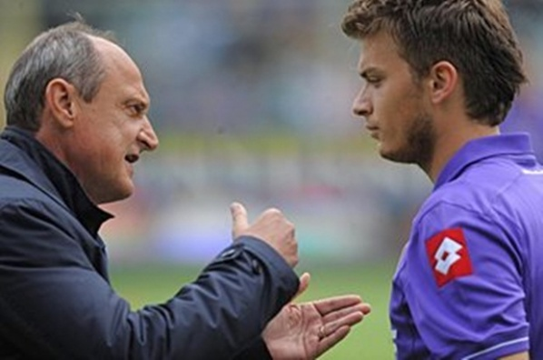 Fiorentina fired Deli Rossi after he beat Ljajic