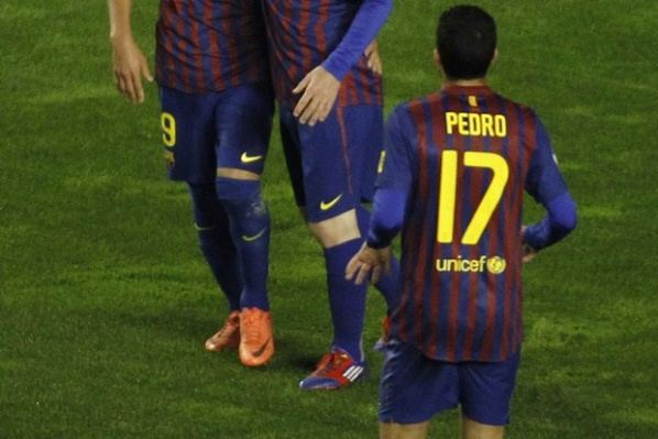 Pedro: We want to dedicate the Cup of the King to Pep, Villa and Abidal
