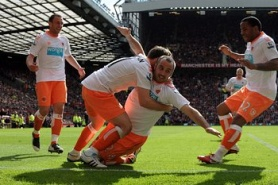 Own goal close Blackpool to the Premier League