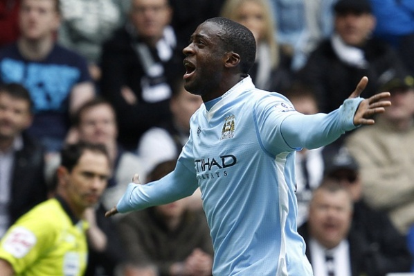 The hero of City Yaya Toure: Battle for the title is not over