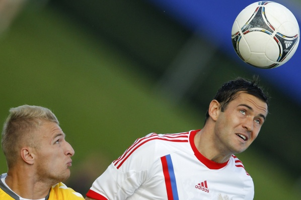 Russians are with the highest average age of Euro 2012