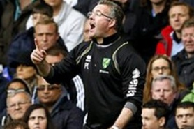 Norwich manager has resigned, but it has not accepted yet