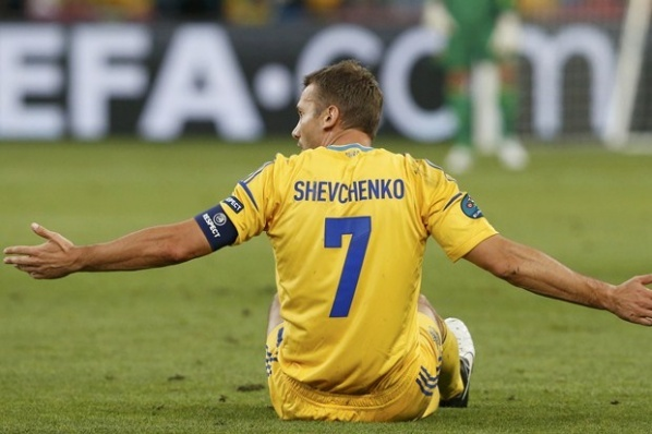 Shevchenko is done with the national team of Ukraine
