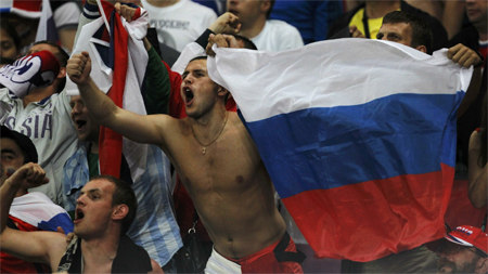 UEFA has accused Spain and Russia in racism
