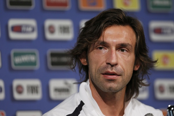 Pirlo: Germany is afraid of us, but at least play football, unlike England