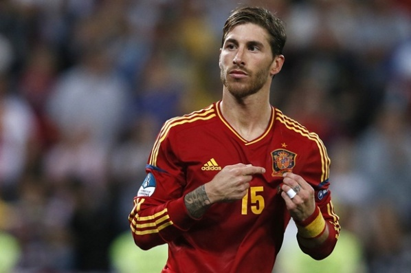 The player of the match Sergio Ramos: I'm proud to play for this team