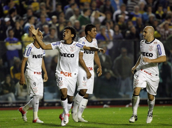 Corinthians drew equal to Boca Juniors in the first final of Copa Libertadores