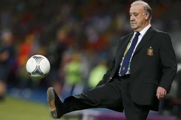 Del Bosque is ranked among the coaches with titles of European Championships
