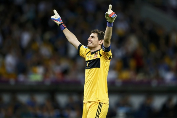 Casillas, Torres and Xavi, and Spain Records