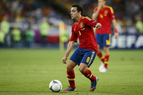 Xavi: We enjoyed on the pitch, I can play in the World Cup 2014