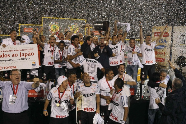 Corinthians won the Copa Libertadores for the first time