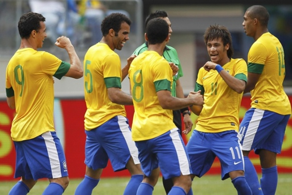 fficial: Brazil attack the title of London 2012 with Neymar, Pato, Hulk and many more stars