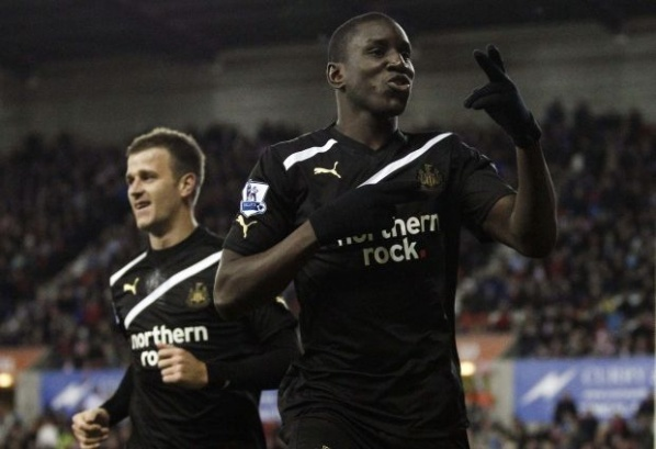 Demba Ba: I will stay in Newcastle