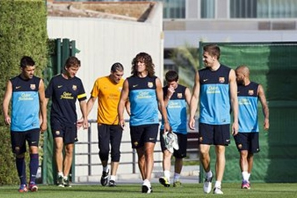 Puyol: There is no problem with the renewal of my contract