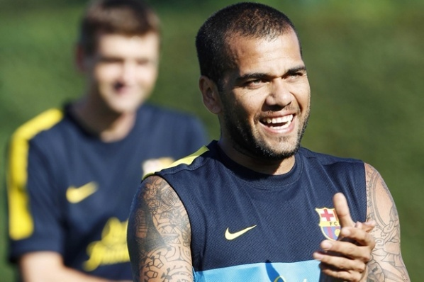 Dani Alves questionable for the control with Dinamo Bucharest