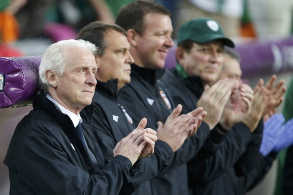 Trapattoni denied again, he won`t leave the Greens