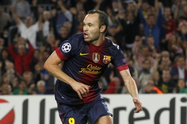 Barca did not lose when Iniesta scored a goal