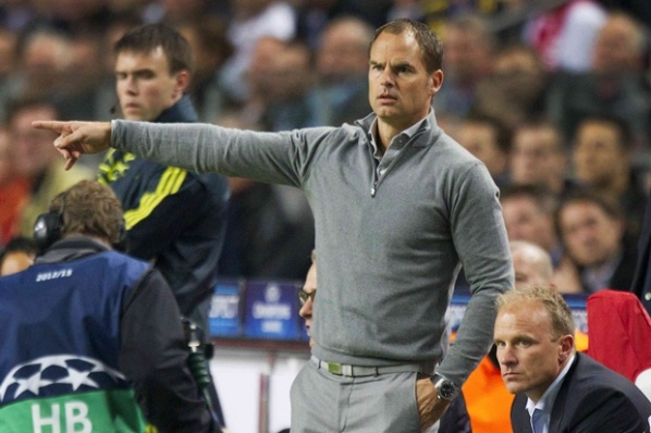 De Boer sorry, that Ajax did not win in Manchester
