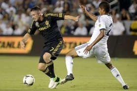 Robbie Keane's goal sent LA Galaxy in the final