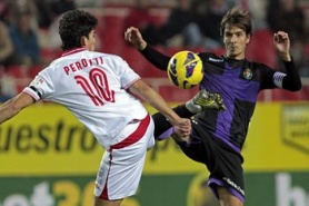 Valladolid jumped six places in the standings after beating Sevilla