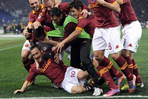 The Prince of Rome dashed the champion Juventus