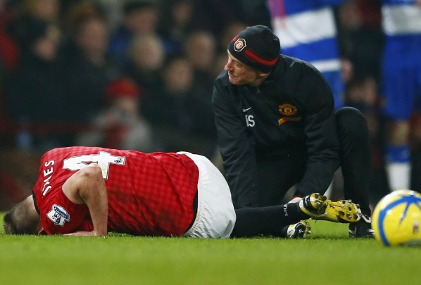 Phil Jones questionable for the game against Real Madrid