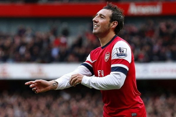 Santi Cazorla: Bayern Munich and Barcelona are the favorites in the Champions League