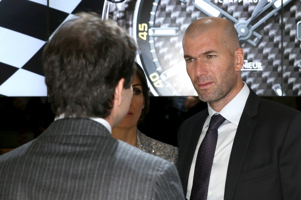 Zidane became a second coach at Real Madrid