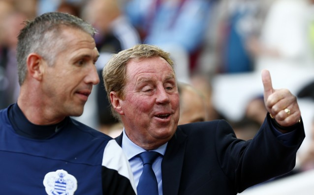 QPR put Harry Redknapp on the penalty