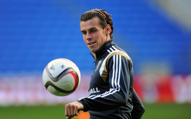 Bale resumed training with a chance to play against Liverpool