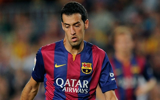 Sergio Busquets again with physical problems