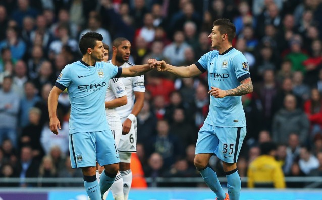 Aguero and Jovetic missed the training of City