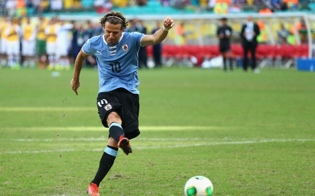 Diego Forlan is leaving the national team of Uruguay