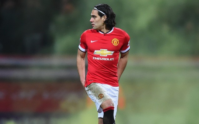 Falcao remained in sight of Juve