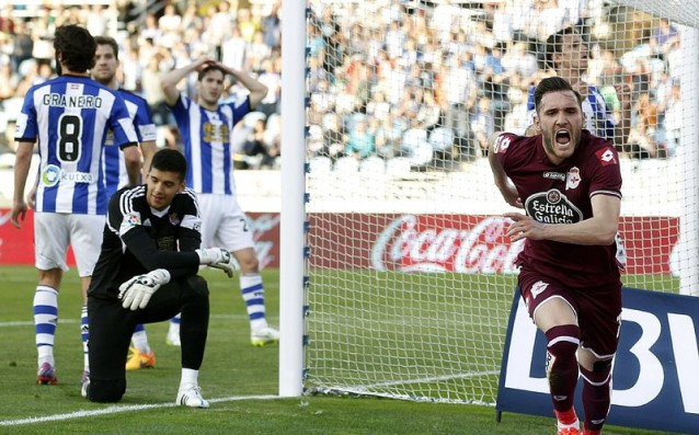 The intriguing match between Sociedad and La Coruna ended with no winner