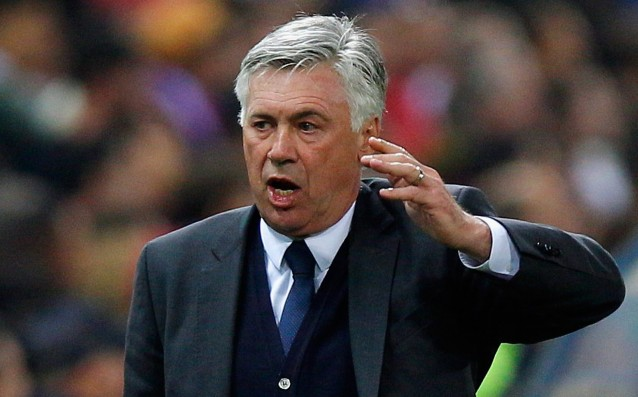Ancelotti: 'The injuries don't bother me, I am looking for solutions.'