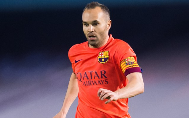 Iniesta is not satisfied with his form at the moment