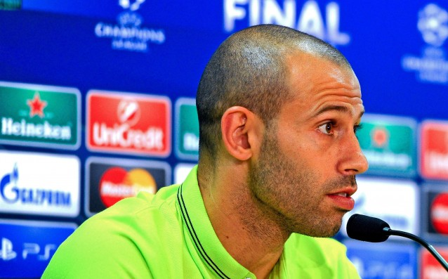 Mascherano: The word 'Invincible' does not exist.