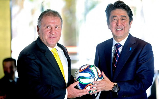 Zico is running for President of FIFA
