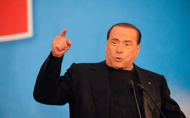 Berlusconi announced splitting with 8 players