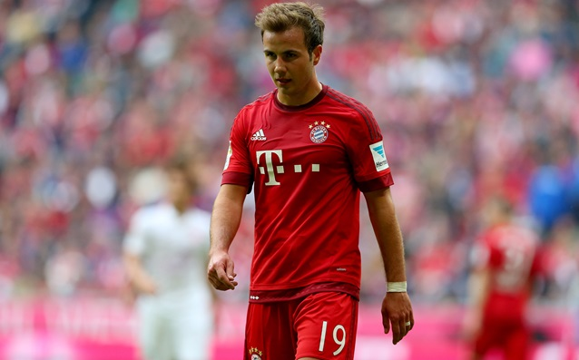 Beckenbauer: 'Gotze has to change his game.'