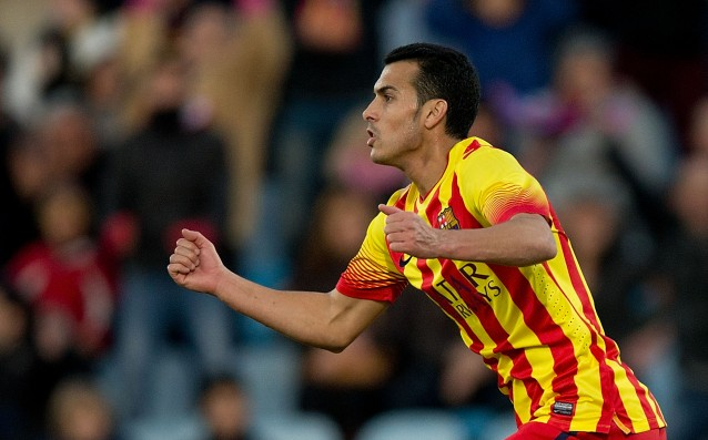 Cruyff: 'Pedro is very valuable for Barcelona.'