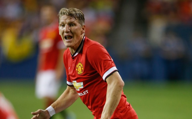 Guardiola: 'I hope Schweinsteiger will cope in the United.'