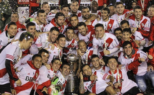River Plate with the 3rd Copa Libertadores