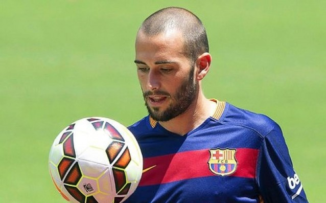 Vidal played in a control of the second team of Barca
