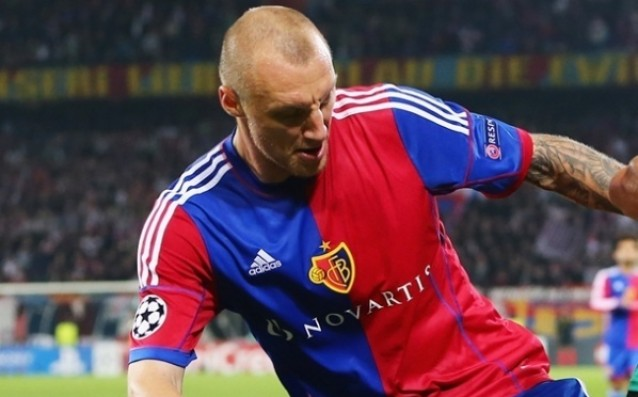 Ivan Ivanov is back in the game, scored a goal for Basel